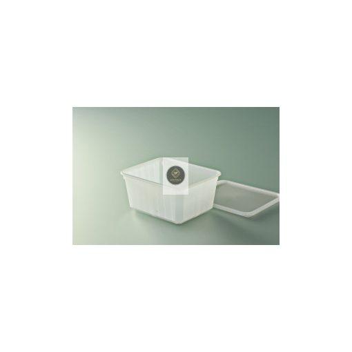 Carty műanyag doboz 750ml (118x142x68mm) + tető, x200db