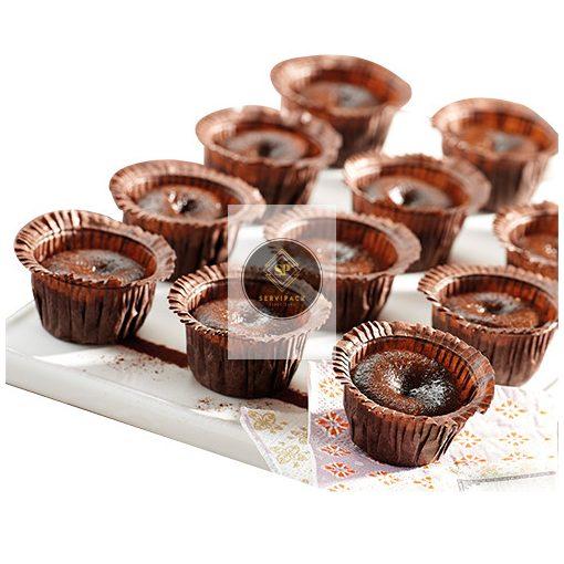 Mini csokoládés sütemény (96 x 20g), gyorsfagyasztott