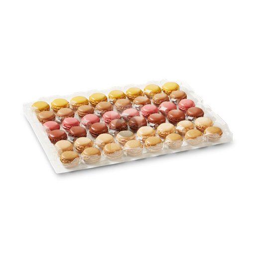 Mini Macaron Mix II. 12g x96, gyorsfagyasztott