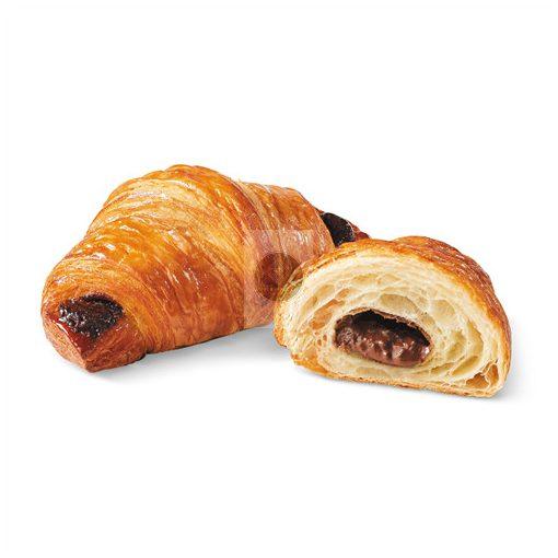BRIDOR Croissant kakaós-mogyorós töltelékkel 90g x60, gyorsfagyasztott