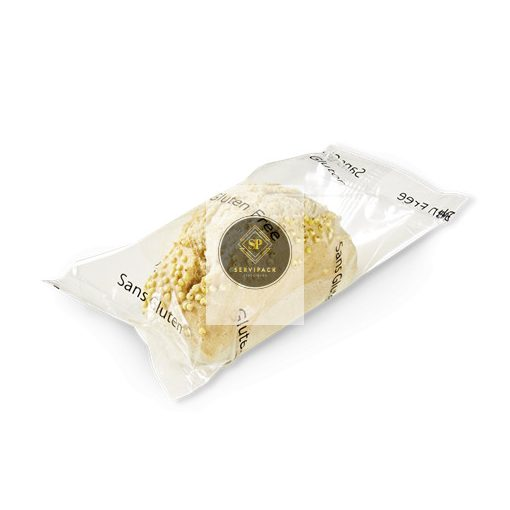 BRIDOR Gluténmentes mini natúr kenyér 45g x50, gyorsfagyasztott