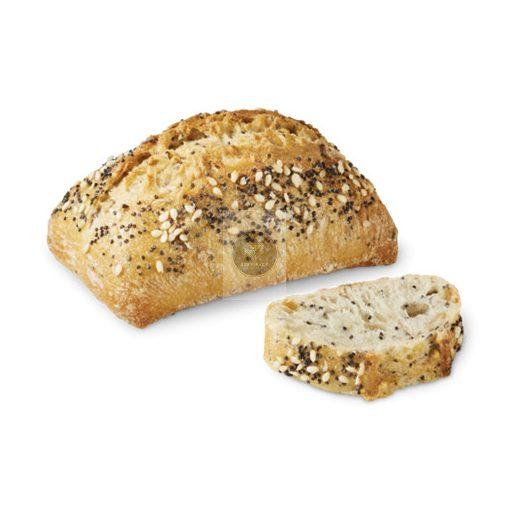 BRIDOR Mini magvas kenyér 40g 'Essentiel' x200, gyorsfagyasztott