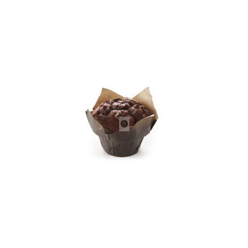 BRIDOR Csokoládés Muffin csokoládédarabokkal 95g x28, gyorsfagyasztott