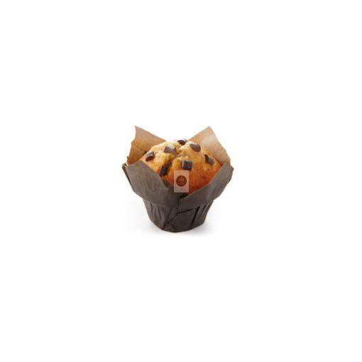 BRIDOR Natúr Muffin csokoládédarabokkal 95g x28, gyorsfagyasztott