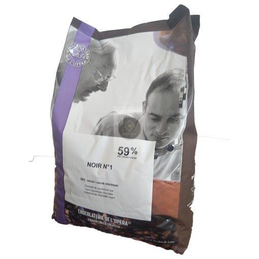 Étcsokoládé N°1 - 59%