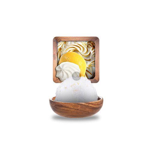 Habcsókos citromtorta jégkrém 'Artisanales' 2.5L