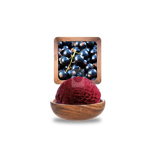 Fekete ribizli (Cassis) sorbet 'Plein Fruit' 2.5L