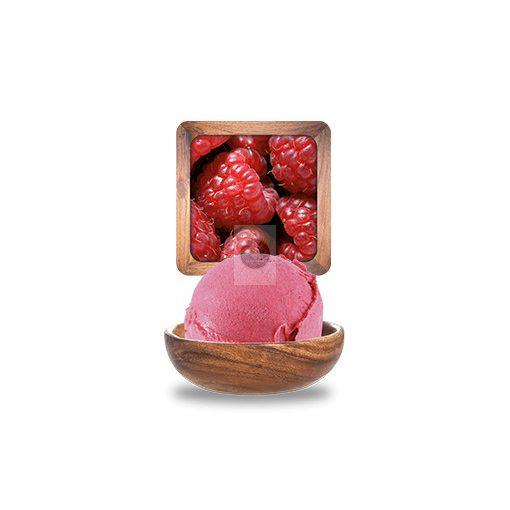 Málna sorbet 'Plein Fruit' 2.5L