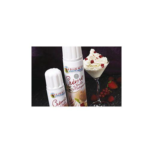 Vaníliás tejszínhab spray madagaszkári vaníliával, 500g