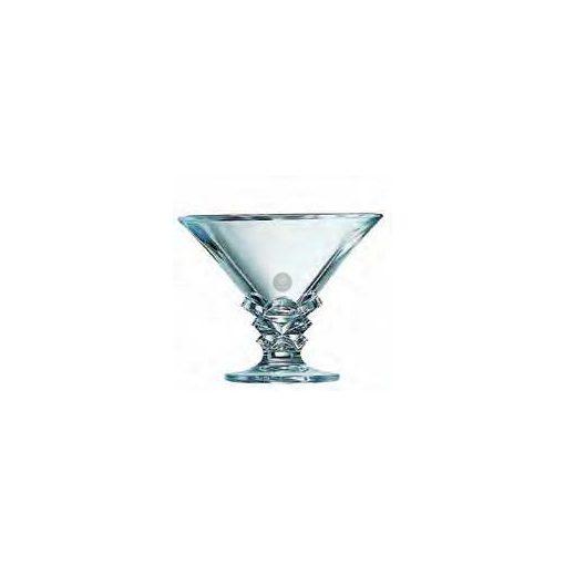 Üveg fagylaltkehely 'Palmier' 21 cl
