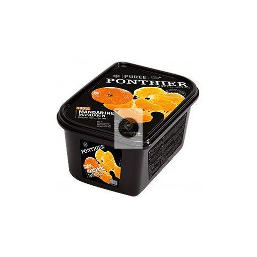 PONTHIER Cukormentes mandarinpüré, gyorsfagyasztott - 1kg