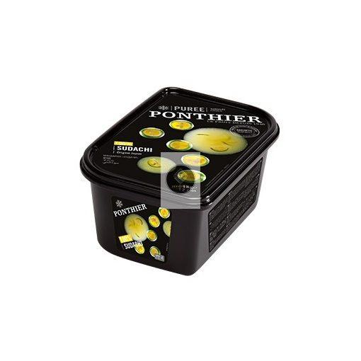 PONTHIER Cukormentes sudachi püré, gyorsfagyasztott - 1kg