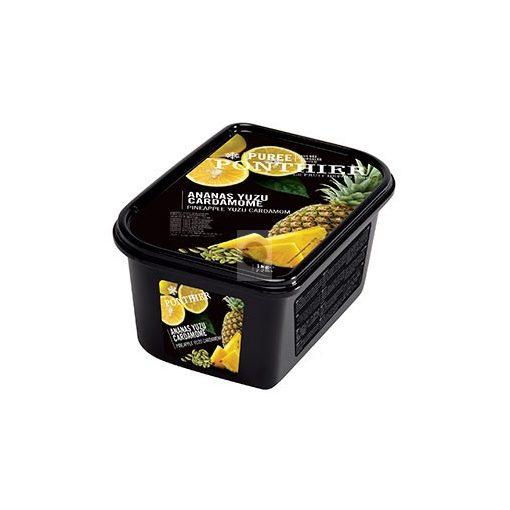 PONTHIER Kardamonos yuzus ananászpüré, gyorsfagyasztott - 1kg