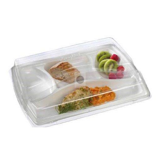 Étel szervírozó 'Basic' tálca, x100 (RPET)