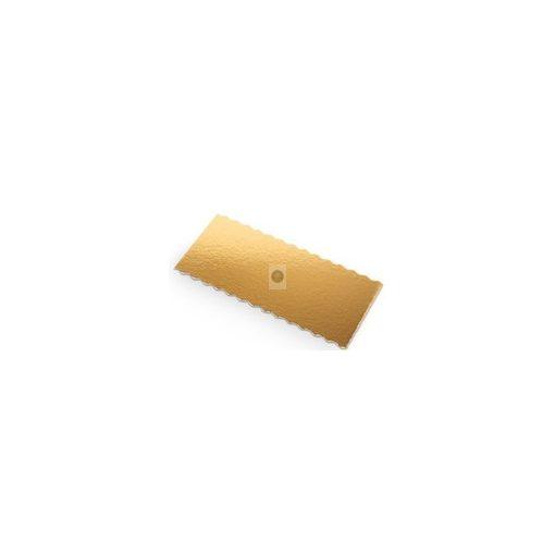 Fatörzs süteményalátét, aranyszínű 200x100mm, x50db